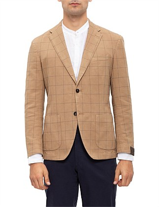 SB 2B SV Tito jacket WINDOWPANE