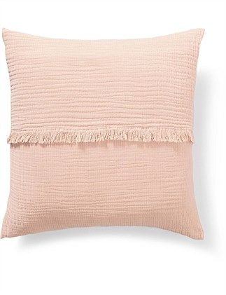 Finn Raw Fringe Cushion