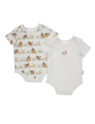 The Lion King 2 Pk Ss Bodysuit(NB-1Y)