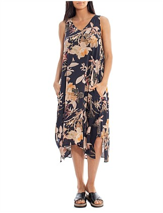 MIDNGHT LILY MAXI DRESS