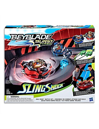 BEYBLADE RAIL RUSH BATTLE SET
