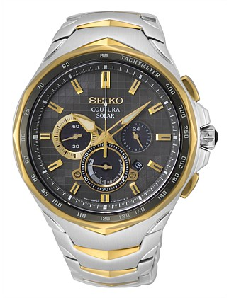 Coutura Solar Chronograph Watch