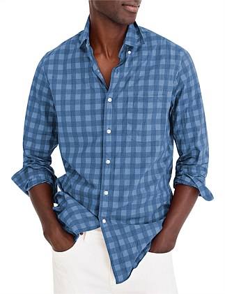 Stretch Secret Wash Heather Hudson Gingham