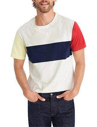 Flag Block Heritage Jersey Ss Tee