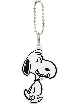 SNOOPY SILICONE BAG CHARM