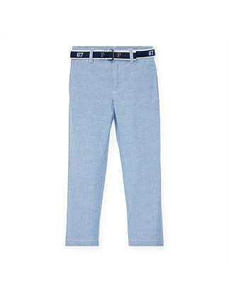 Belted Stretch Skinny Pant (5-7 Years)