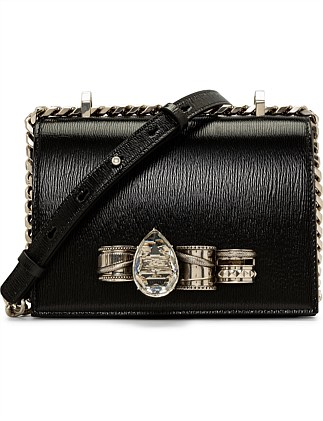 MECHAN SMAL JEWELLED SATCHEL