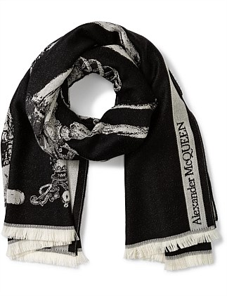SHAWL KING AND QUEEN SCARF