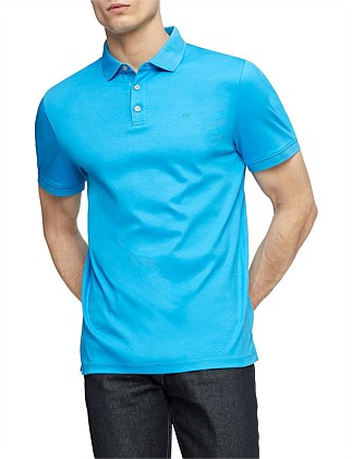 Liquid Touch Polo - SOLID EDI INTERLOCK POLO