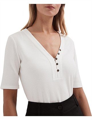 Button Through Top