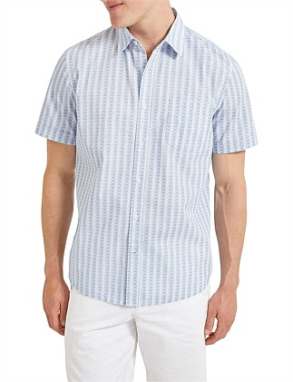 Mack Short Sleeve Print Shirt