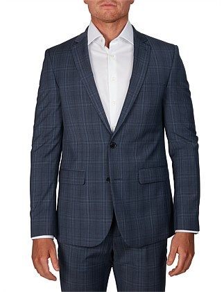 2B NOTCH LAPEL WOOL ALFIE SUIT JACKET