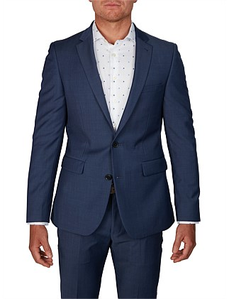 2B SV PIN DOT NOTCH LAPEL  ALFIE SUIT JACKET