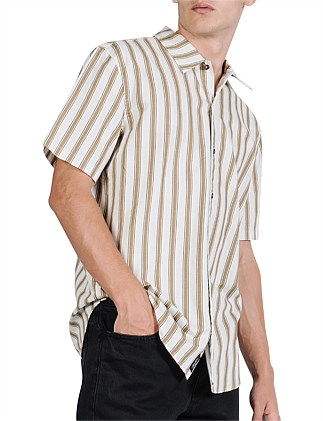 COMMUNE STRIPE SHORT SLEEVE SHIRT