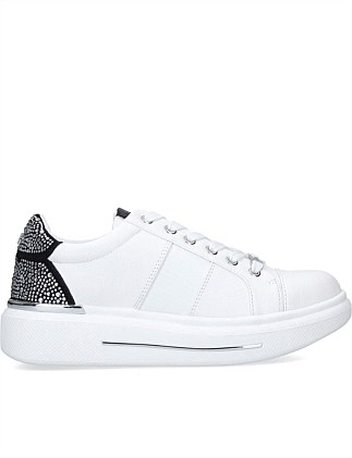 JUBILATE WHITE BLACK SNEAKER