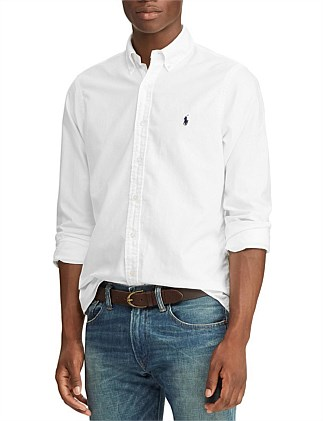 LONG SLEEVE-SPORT SHIRT-GD OXFORD