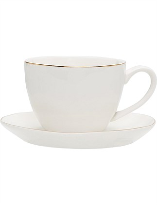 David Jones Christmas Cup & Saucer 250ml
