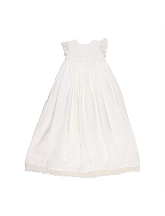 Beaded Christening Dress(3M-1Y)