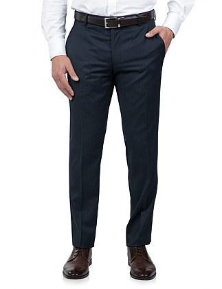 FLAT FRONT TAILORED FIT STRIPE TROUSER
