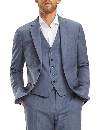 WOOL  SLIM SUIT SEPARATE BLAZER
