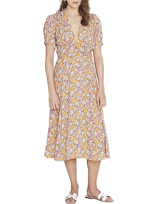 MEADOWS MIDI DRESS