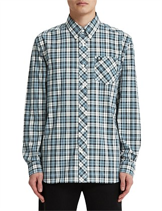 THREE COLOUR TARTAN SHIRT
