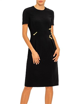 SS DRESS WITH ZIPS