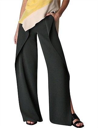 IVY SUITING SIDE VENT PANT