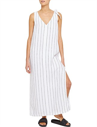 ORLA STRIPE MAXI DRESS