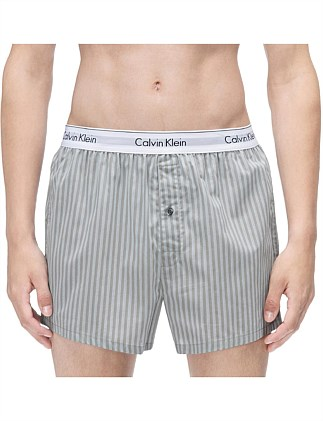 MODERN COTTON STRETCH WOVEN BOXER 2PK