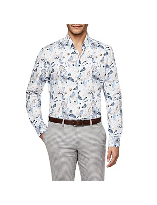 Portofino Slim Fit Floral Shirt