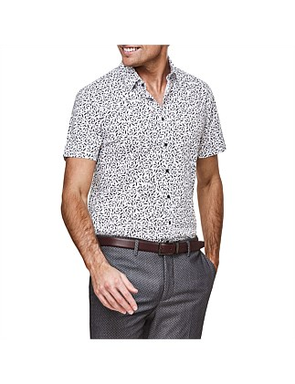 Tuscana Print Short Sleeve Shirt