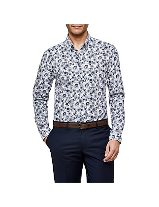 Amalfi Slim Fit Floral Shirt