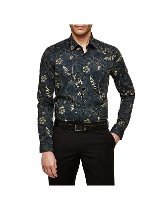 Amaro Slim Stretch Fit Floral Shirt
