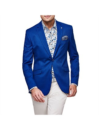 Bellante Slim Fit Stretch Tailored Suit Jacket