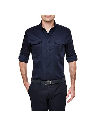 Giazza Slim Stretch Fit Dress Shirt