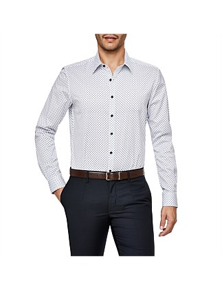 Lombardi Slim Fit Geoprint Shirt