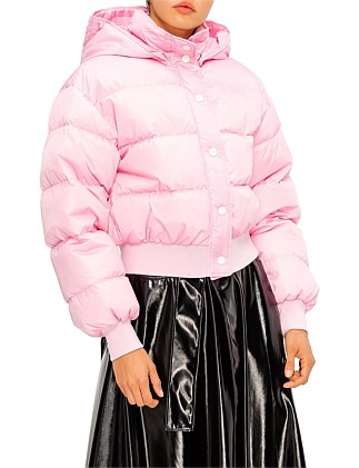 MSGM SHORT DOWN PUFFER JACKET