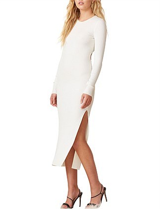 Danika Long Sleeve Midi Dress