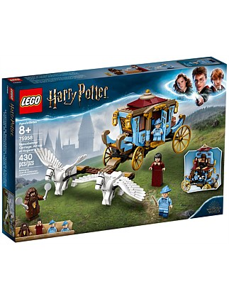 LEGO Harry Potter Beauxbatons Carriage Arrival at Hogwarts