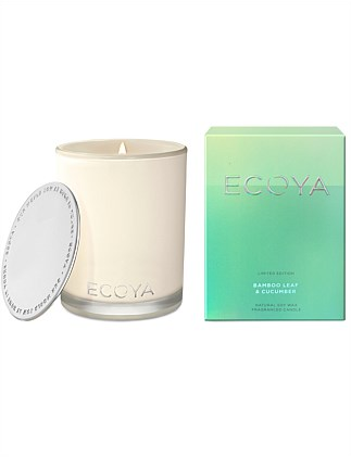 ECOYA Madison Candle - Bamboo Leaf & Cucumber 400g