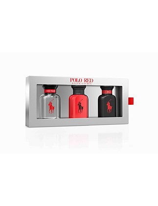 F19 Polo Red Trio Set