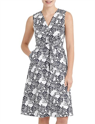 LUCIA PRINTED DRESS
