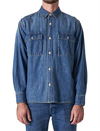 BOX DENIM SHIRT
