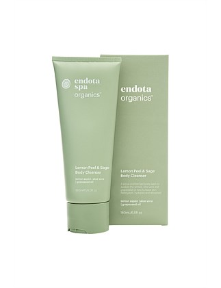 Endota lemon peel & sage body cleanser 180ml