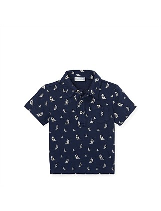 Sailboat Featherweight Polo (3-24 Months)