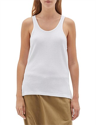 Waffle Slouch Athletic Tank