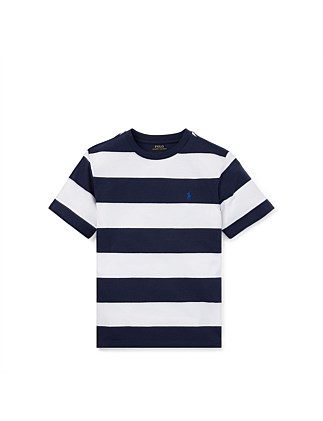 Striped Cotton Jersey Tee (S-XL)