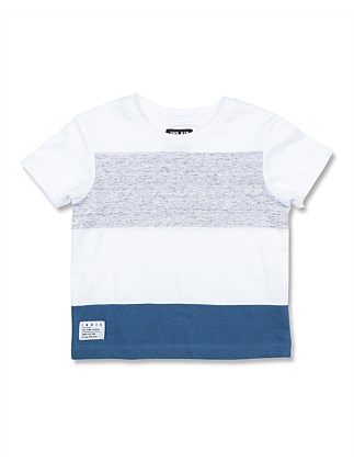 S19 Summer Block Tee (Boys 0-2)