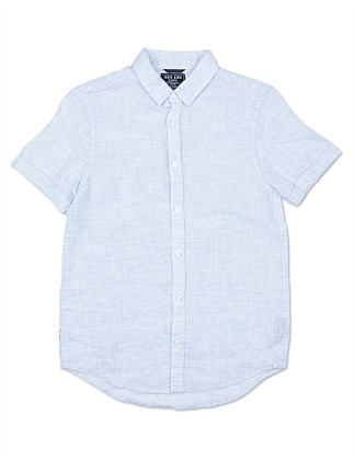 The Linen S/S Shirt (Boys 8-14)